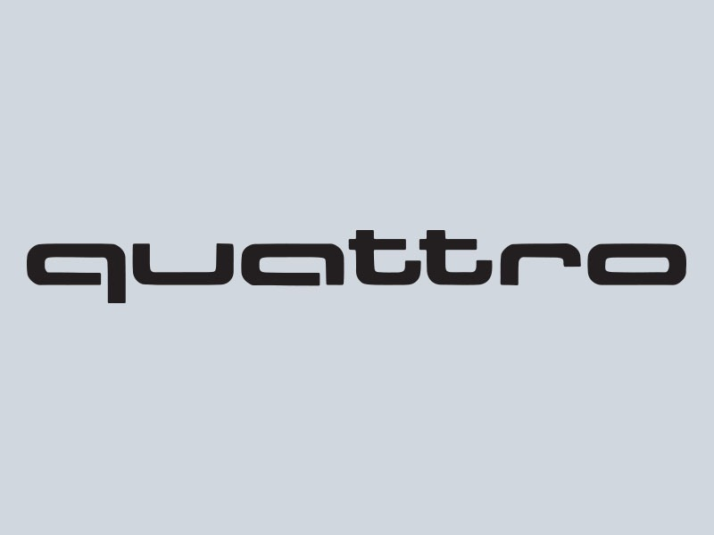 Audi Quattro Stickers