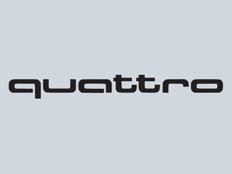 Audi Quattro Stickers