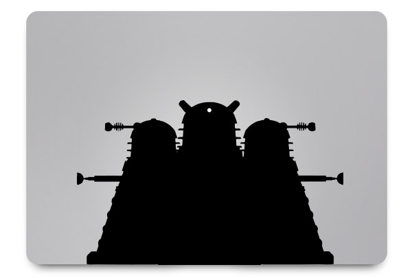 dalek macbook sticker