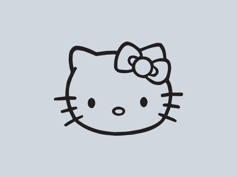 hello kitty car stickers