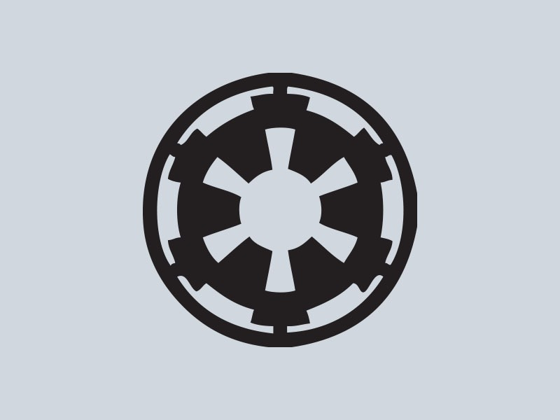 star wars car stickers galactic empire