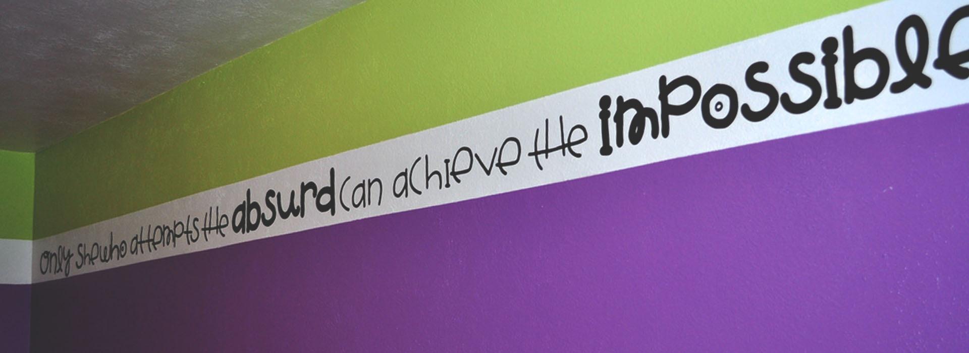 vinyl lettering for walls
