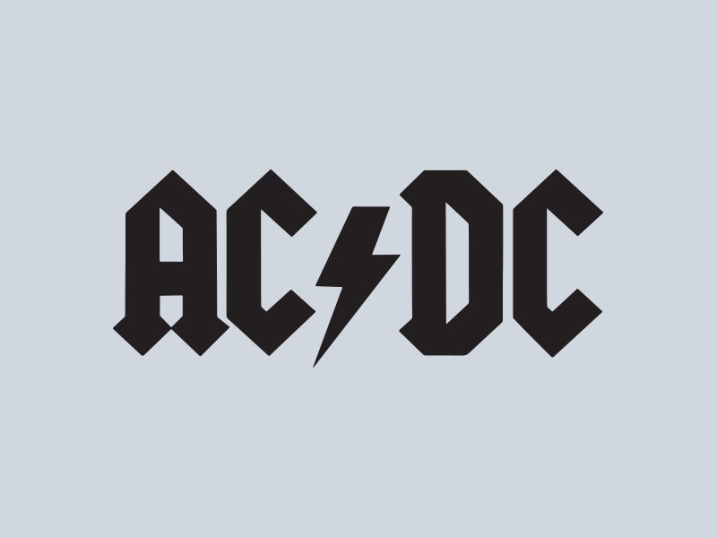 acdc car stickers