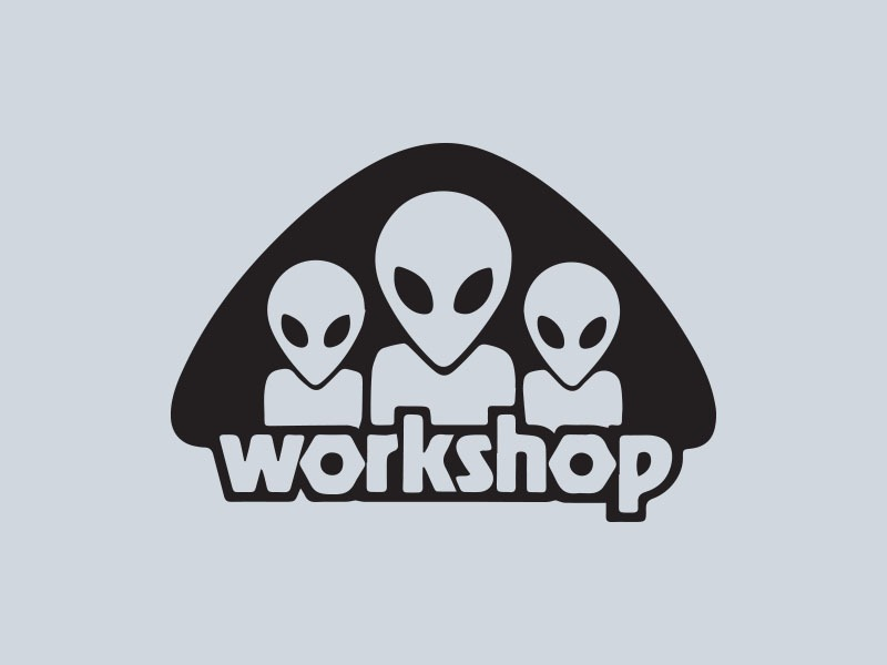 Alien workshop skateboards vinyl sticker