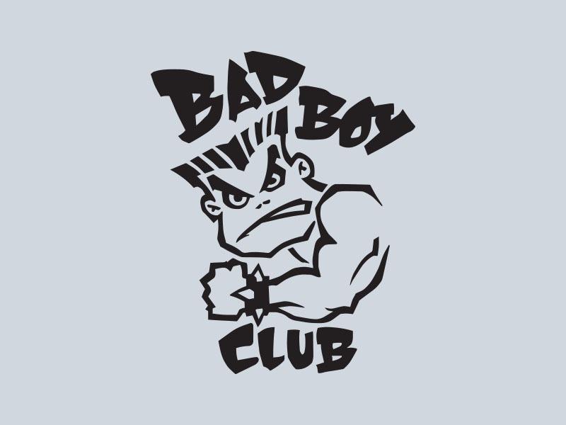 bad boy club car stickers