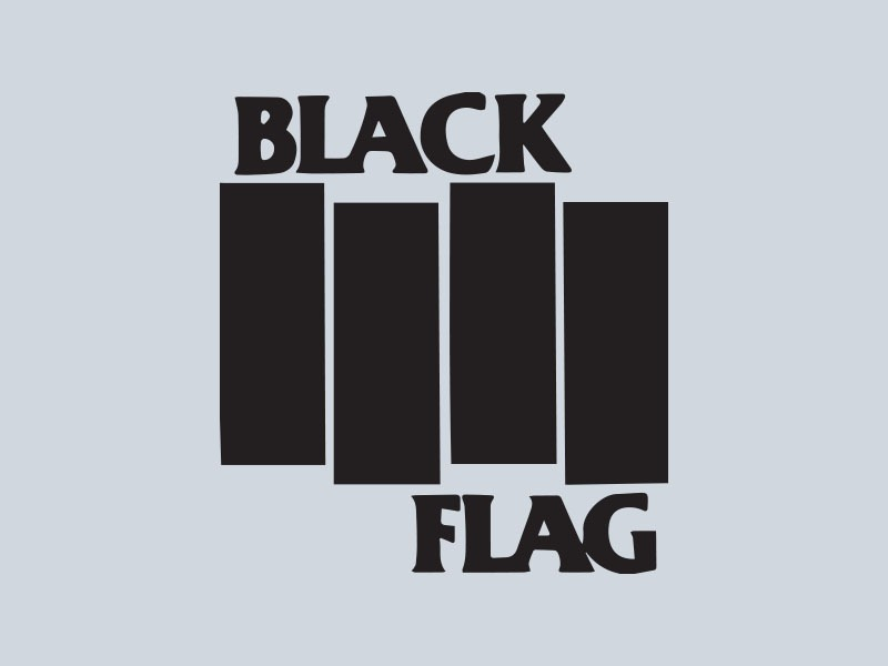 black flag car stickers
