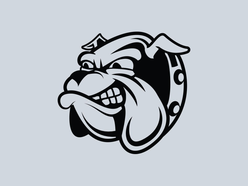 bulldog vinyl stickers