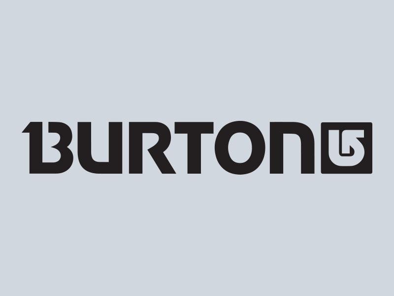 burton snowboards vinyl sticker