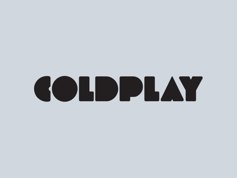 coldplay car stickers