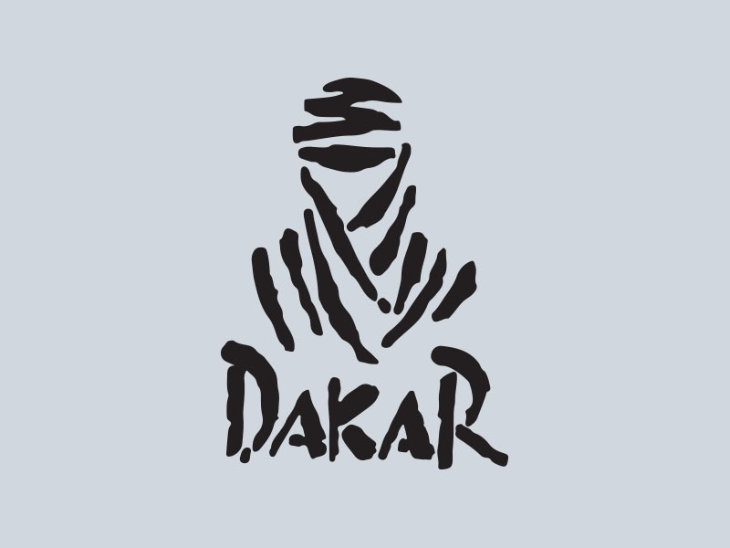 dakar rally car stickers