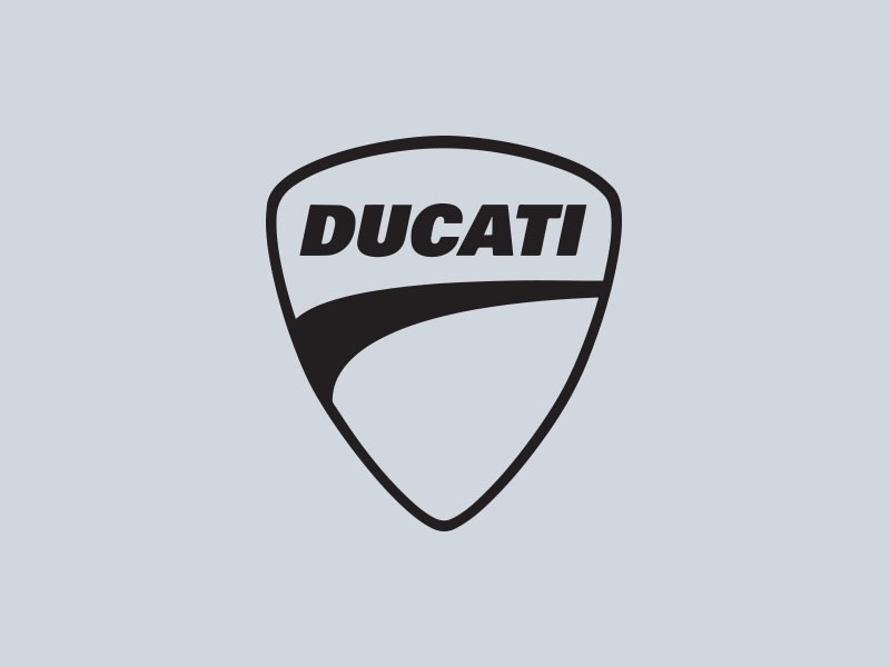 ducati badge motorcycle stickers