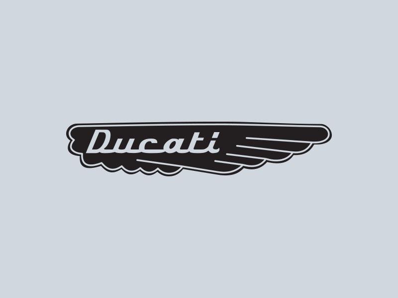 ducati wings motorcycle stickers