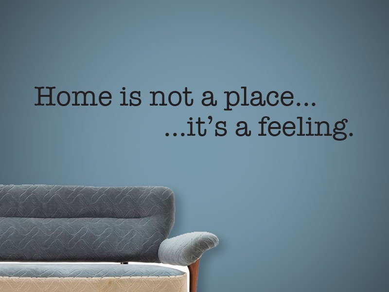 home quotes wall art