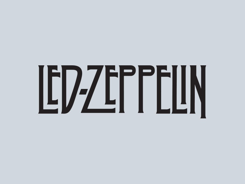 led zeppelin car stickers