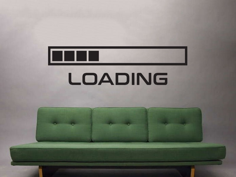 loading wall art