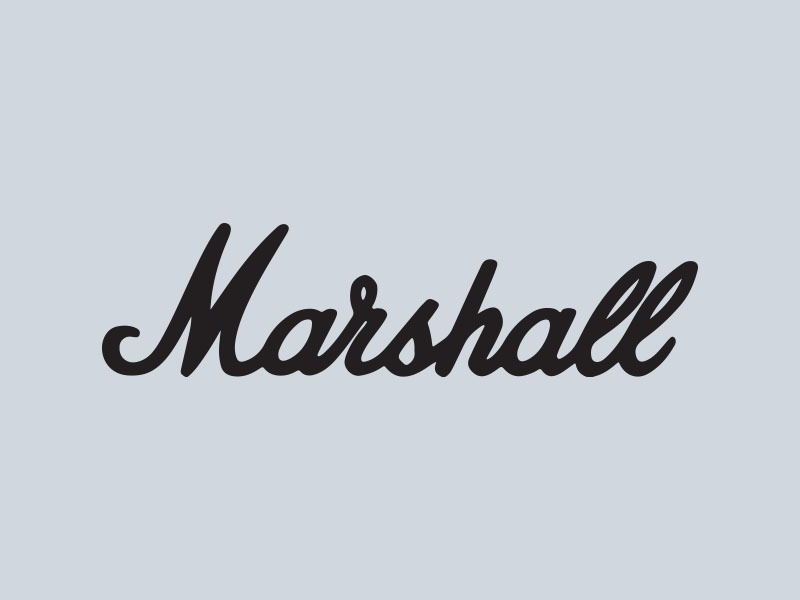 marshall amps car stickers