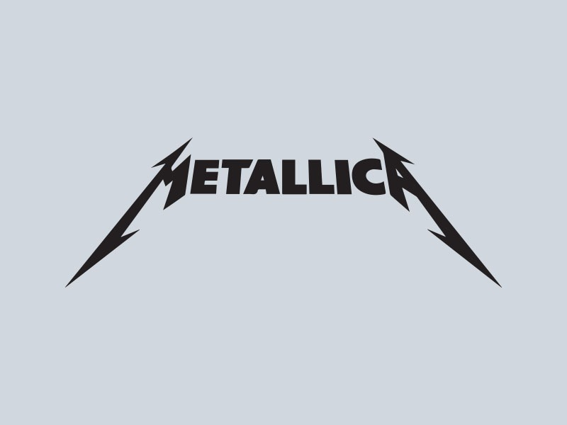 metallica car stickers
