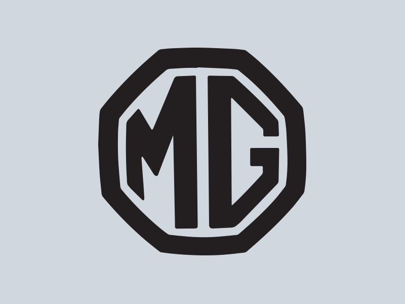 mg badge vinyl car stickers
