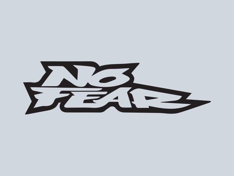no fear car stickers