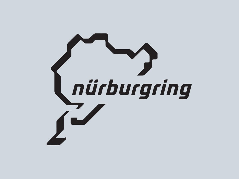 nurburgring car stickers