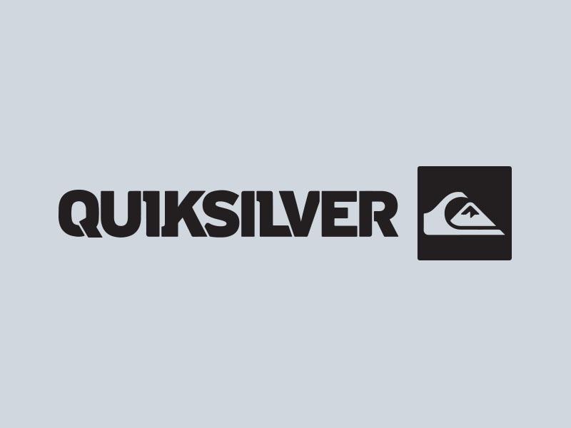 quiksilver vinyl sticker