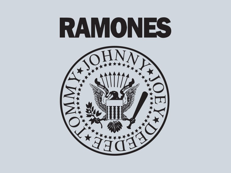 ramones car stickers