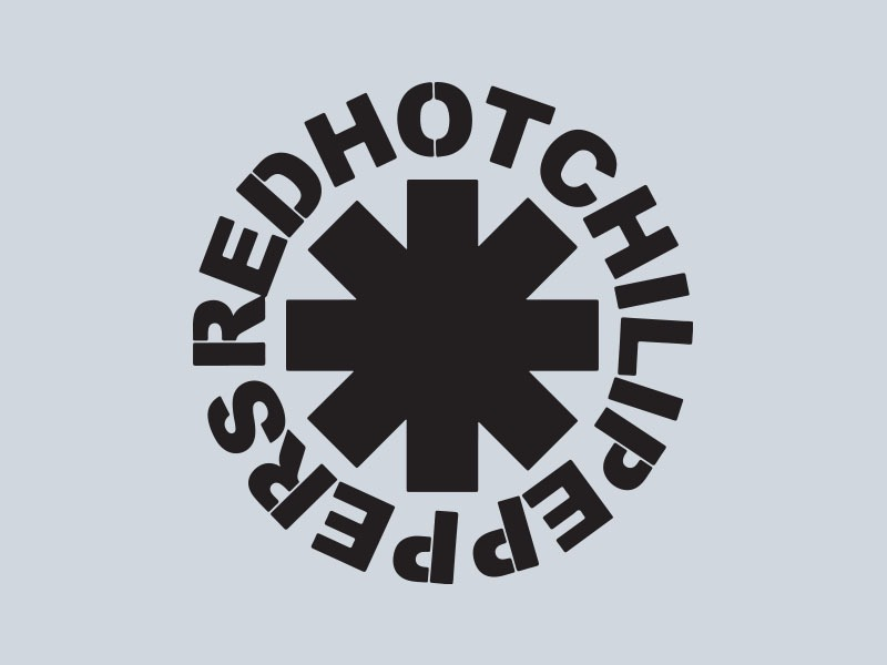 red hot chilli peppers car stickers