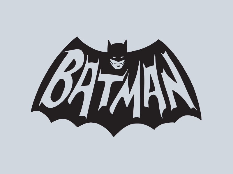 retro batman vinyl decals