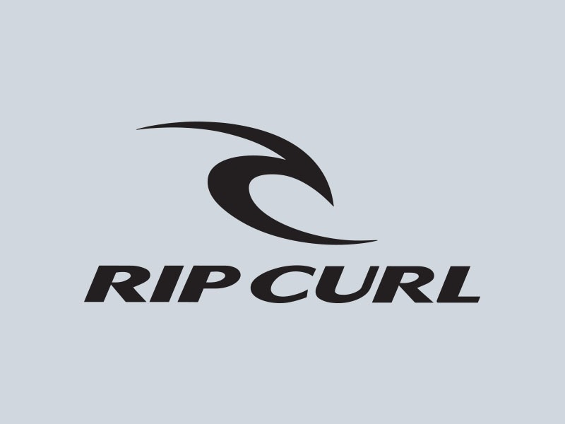 rip curl vinyl sticker