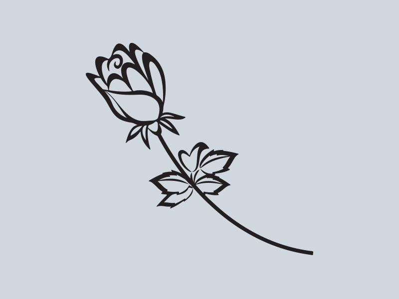 rose car stickers
