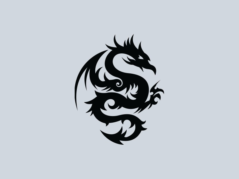 tribal dragon car graphics 3