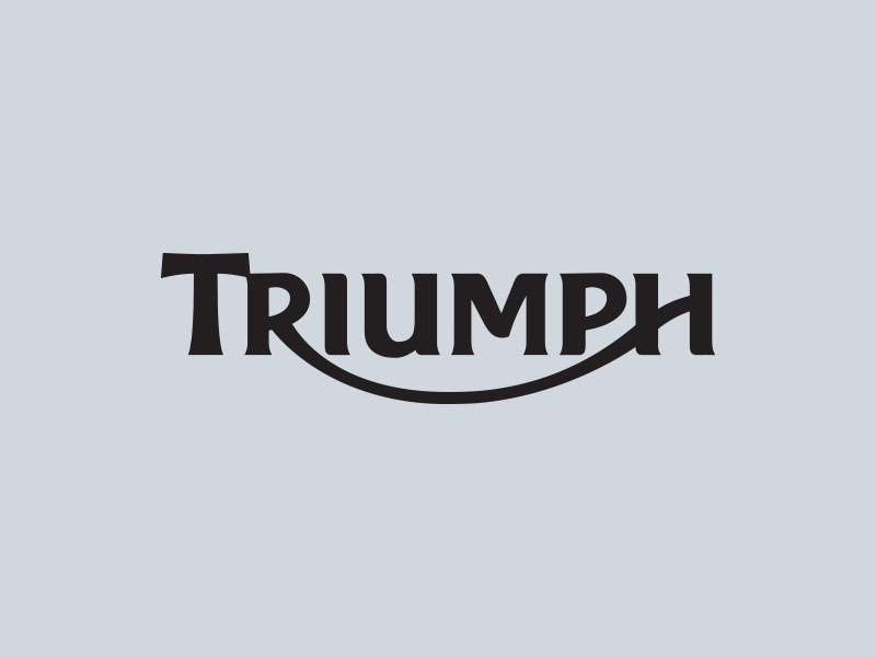 triumph motorcycle stickers