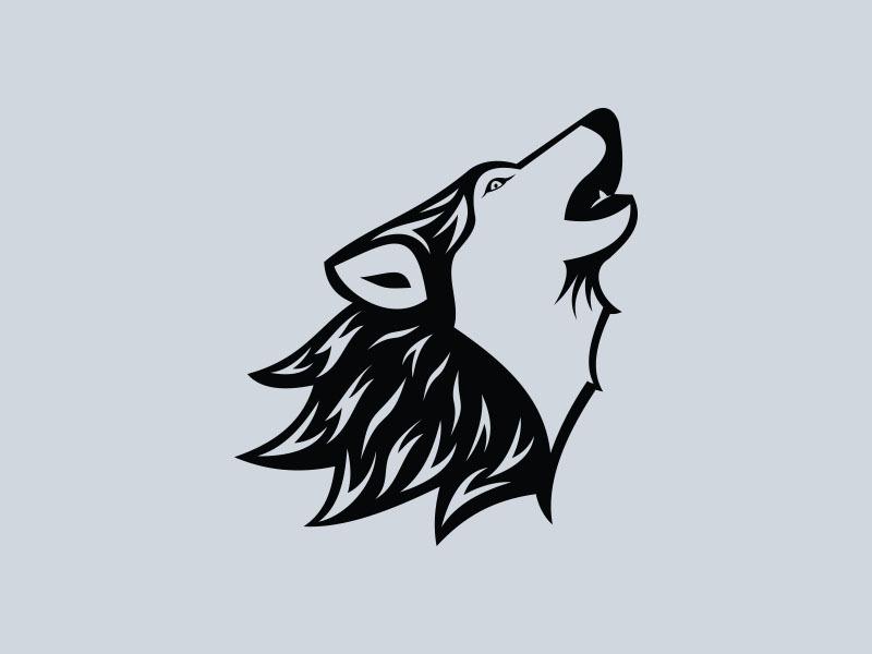 wolf vinyl stickers