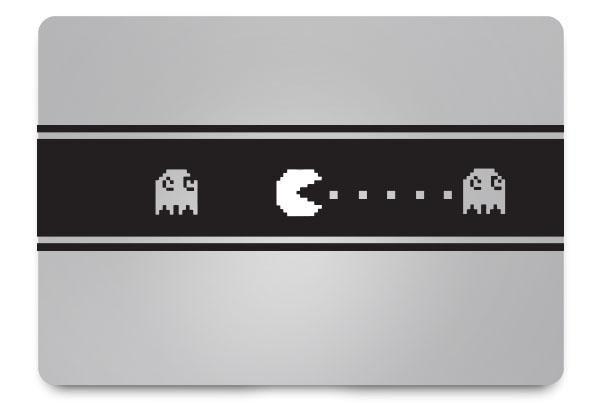 Pacman macbook sticker