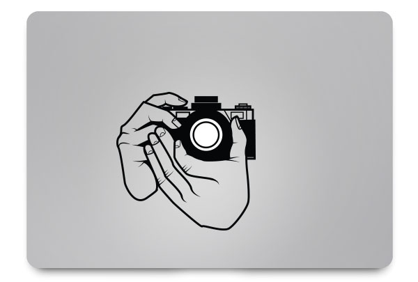camera macbook sticker