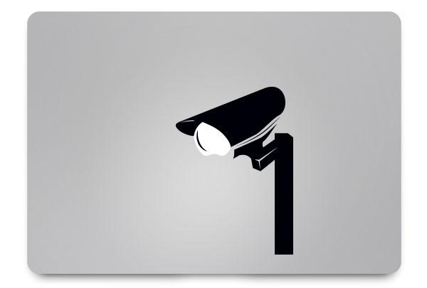 cctv macbook sticker