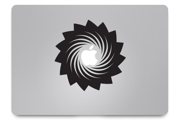 swirl macbook sticker