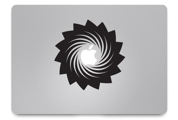 swirl macbook sticker